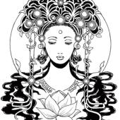 蓮花と菩薩サムネイル